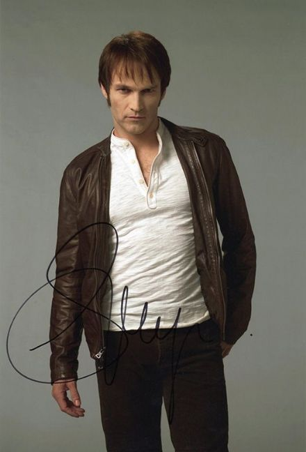 Stephen Moyer, True Blood, signed 12x8 inch photo.